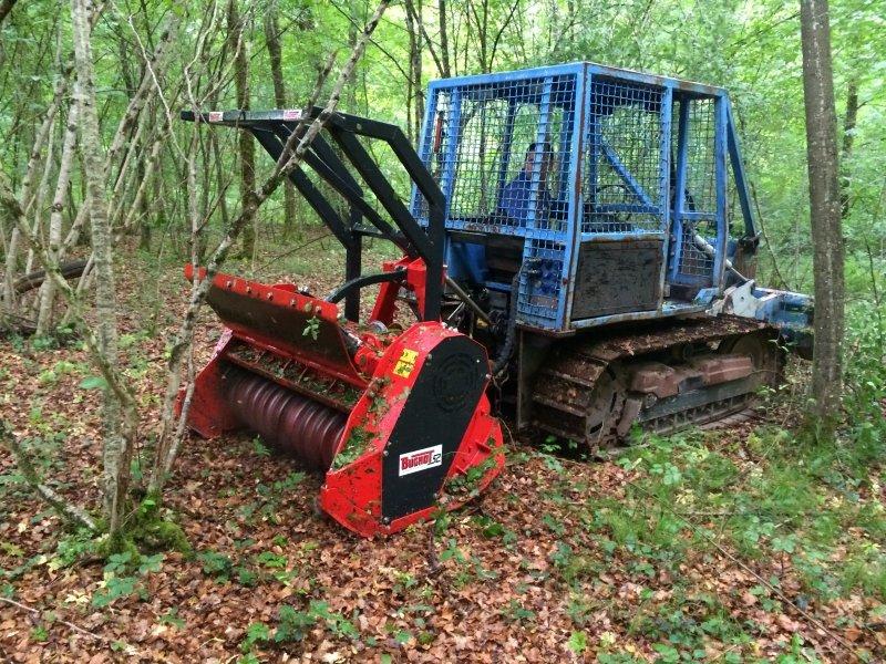 Broyeur forestier léger orientable Bugnot